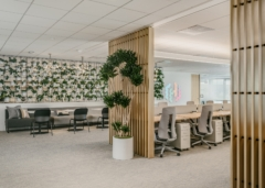 Drop Ceiling in HashiCorp Offices - San Francisco