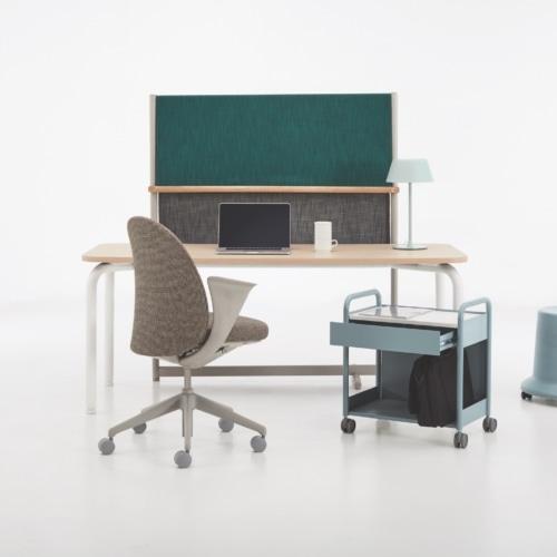 Routes Desks by Teknion